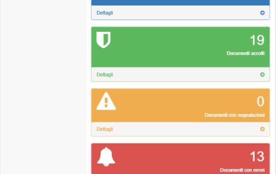 web app invio dati sistema ts dashboard